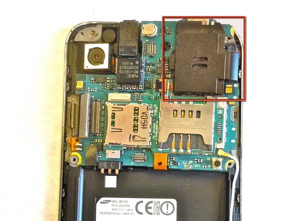 Samsung Galaxy S Vibrant Loud Speaker Replacement