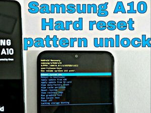 How to Factory Reset Samsung Galaxy A10