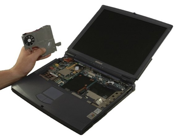 Sony VAIO PCG-933A Thermal Paste Replacement