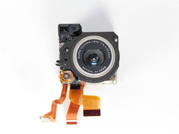 Fujifilm FinePix 4700 Zoom Lens Replacement