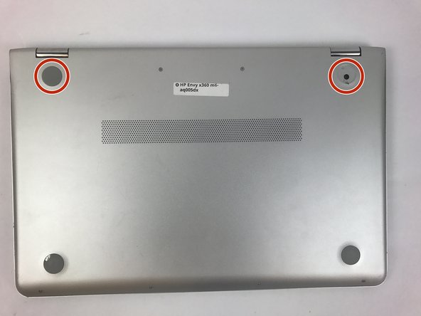 HP Envy x360 m6-aq005dx Back Panel Replacement