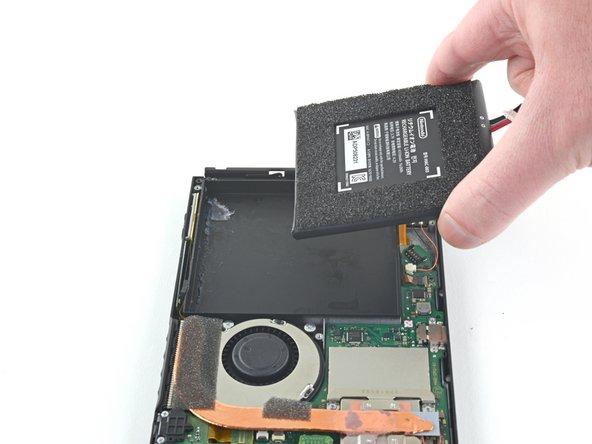 Remplacement de la batterie de la Nintendo Switch