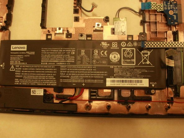 Lenovo IdeaPad 310 Touch-15ISK Battery Replacement