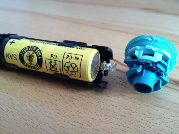 Remove the old battery pack.