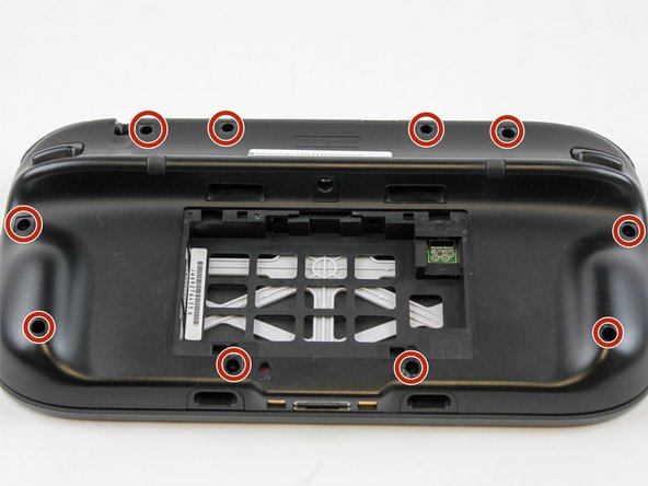 Remove 10 9mm screws with Tri-Wing size Y1 screwdriver around the outer case.