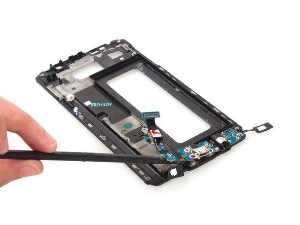 Remove the USB board finally.