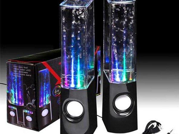 Water Dancing Speaker Lautsprecher mit Wasser auffüllen