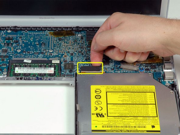 "MacBook Pro 15"" Core 2 Duo Model A1211 Optical Drive Replacement"