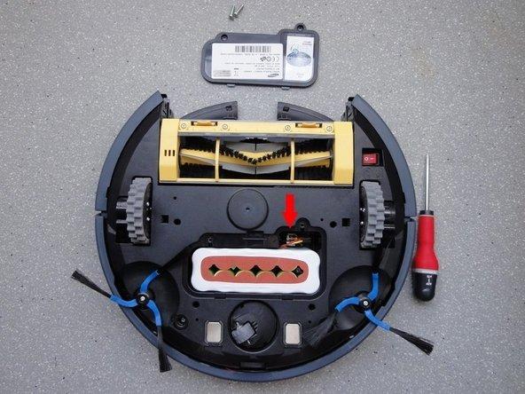débrancher la batterie et l'enlever