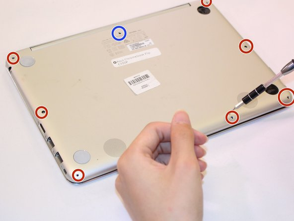 Asus Chromebook Flip C100 Lower Case Replacement
