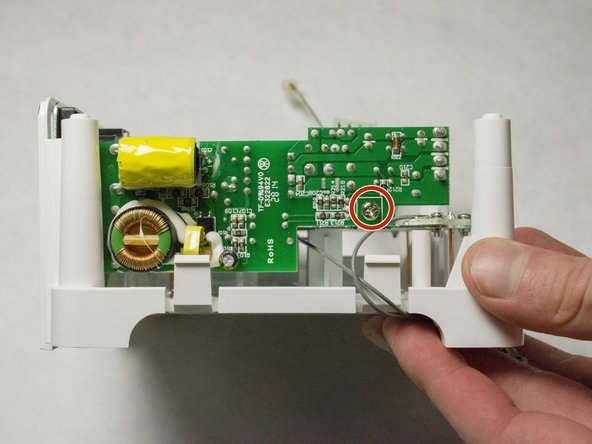 Picture shows the side of the device.