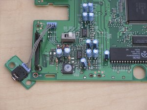 Sega Genesis Reset Button Repair