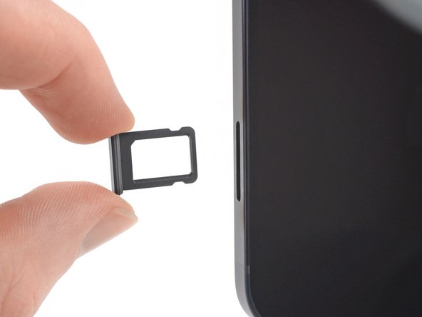 iPhone 12 mini SIM Tray Replacement