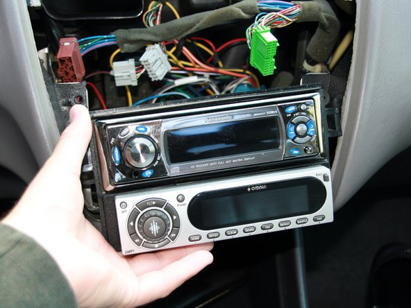 Disassembling 1998-2002 Honda Accord Stereo Head Unit