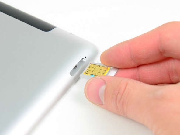 iPad 4 GSM SIM Tray Replacement