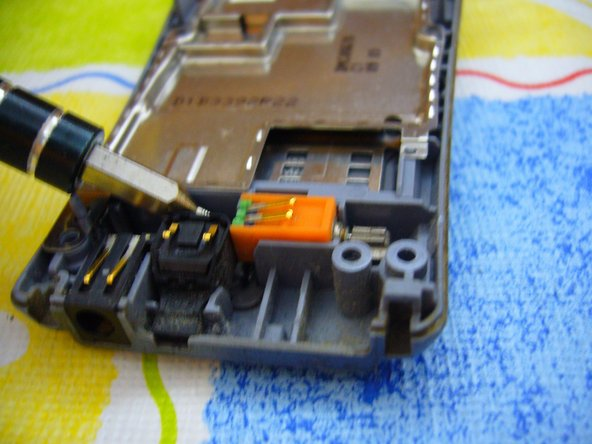 Let's start removing the parts under the logic board.