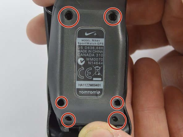 Nike SportWatch GPS Back Panel Replacement