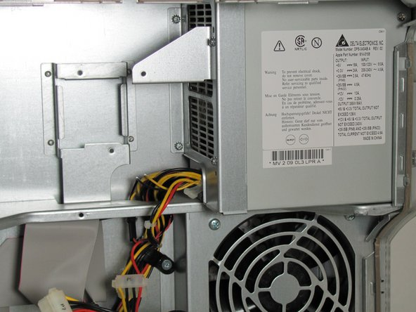 Power Mac G4 Quicksilver Power Supply Replacement