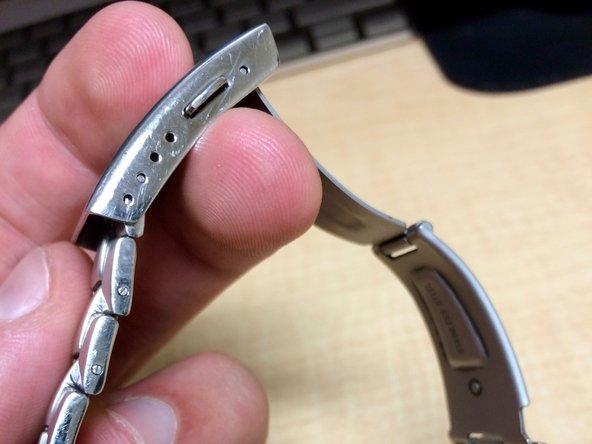 Casio Watchband link replacement/repair