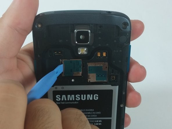 Samsung Galaxy S4 Active MicroSD Card Replacement