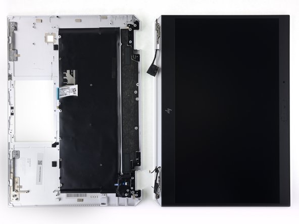 The display assembly can be removed immediately upon opening.