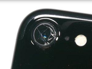 Glasabdeckung der Rückkamera