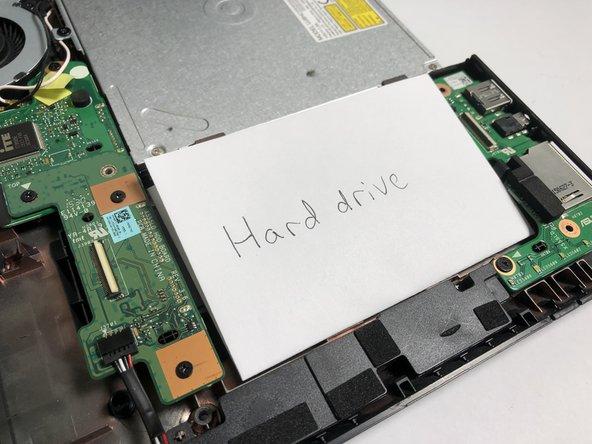 Asus F555LA-AB31 Hard Drive Replacement