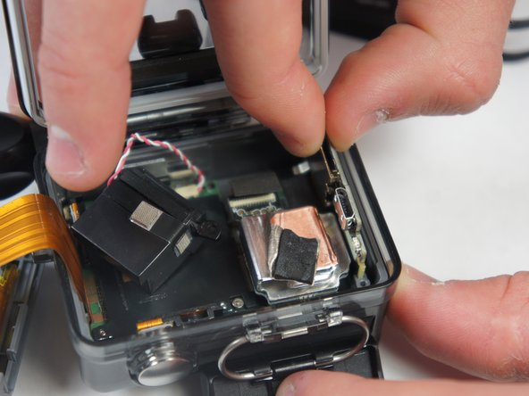 GoPro Hero+ LCD MicroSD/Micro USB Port Assembly Replacement