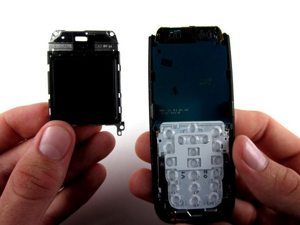 Lift the screen away from the phone and circuit board.