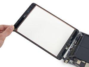 iPad Mini 3 Wi-Fi Frontpanel austauschen
