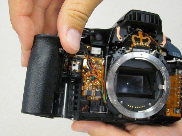 Remplacement de la poignée du Canon EOS 30