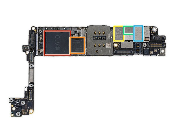 It wouldn't be a teardown without a ton of silicon! Here's what we uncover on the logic board:
