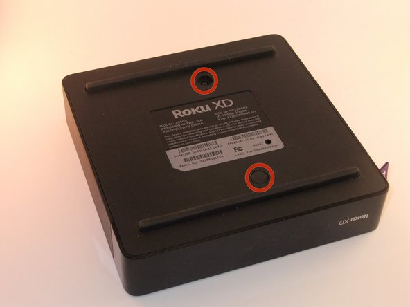 Ensure the Roku XDis unplugged.
