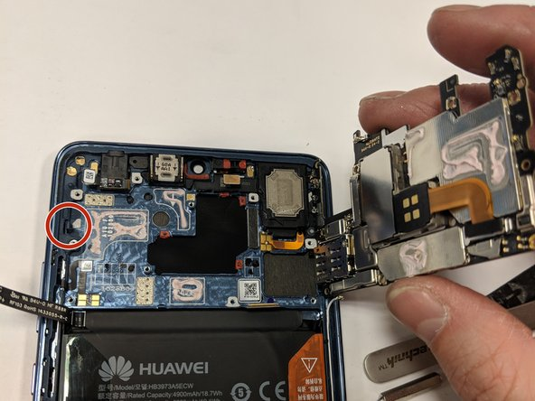 It always amazes me how small the PCBs of these smart phones have gotten!