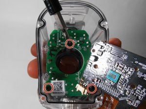 Infrared LED and Motion Sensor Motherboard