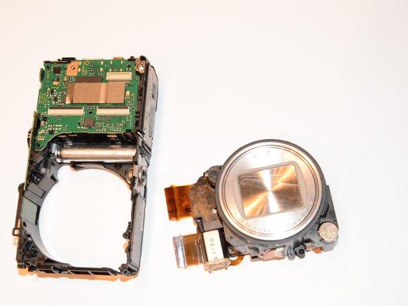 Panasonic Lumix DMC-ZS25  Lens  Replacement