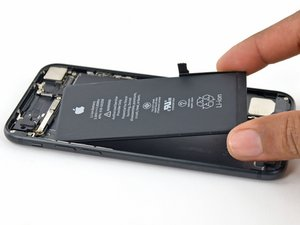 Remplacement de la batterie de l'iPhone 7