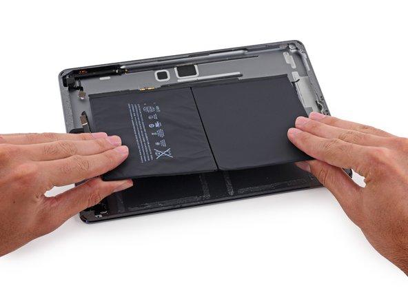 iPad Air Wi-Fiモデルのバッテリーの交換