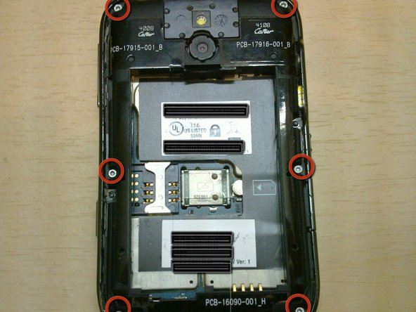 BlackBerry Bold 9000 Screen Replacement