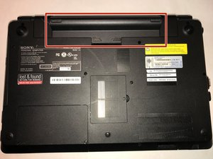 Sony Vaio PCG-81312L Repair