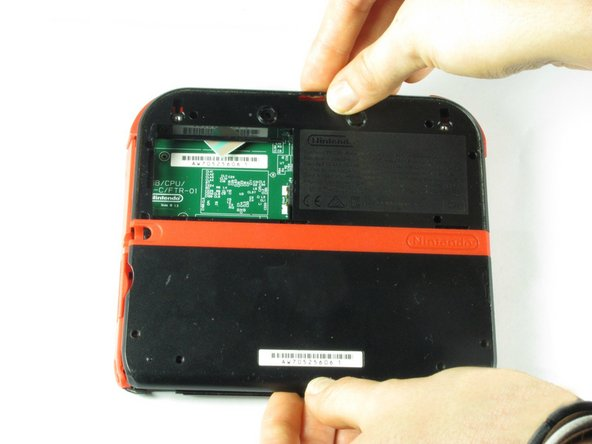Nintendo 2DS Rear Panel Replacement