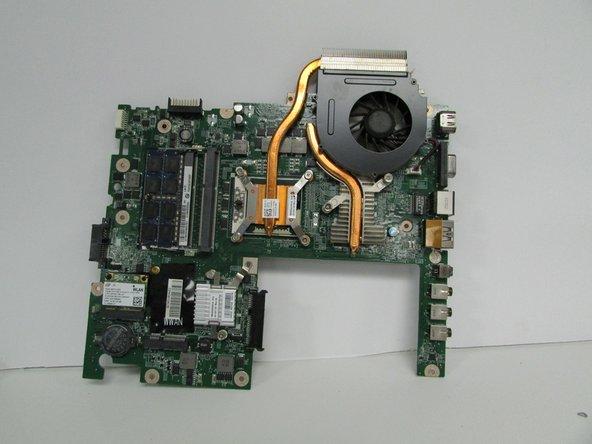 Dell Studio 1558 Fan Replacement