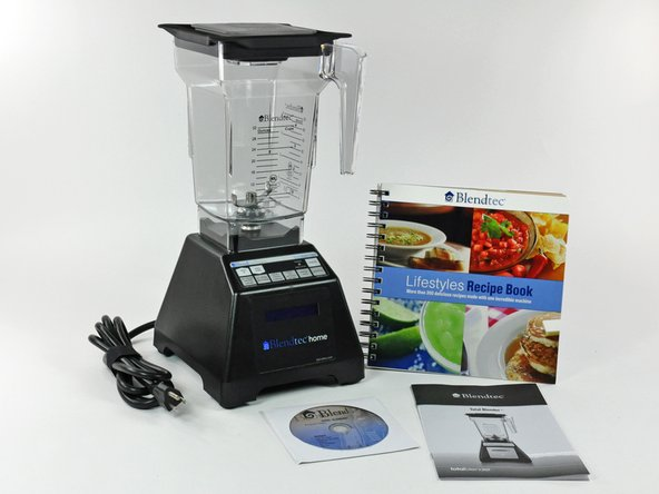 Our friends at Blendtec were awesome enough to lend us a blender for this teardown!