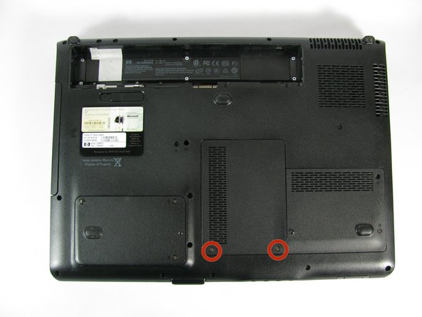 HP Pavilion dv9000 Wireless Card Replacement