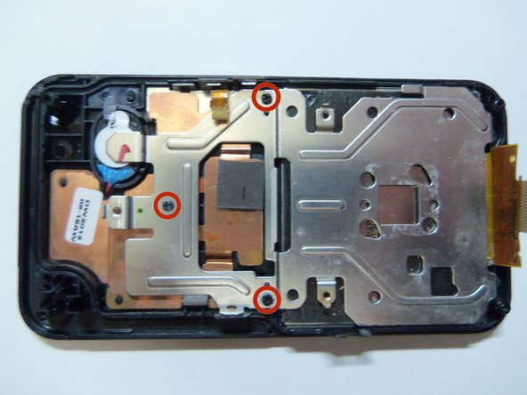 Samsung HMX-W300 LCD Screen Replacement