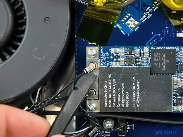 """iMac Intel 20"""" EMC 2105 and 2118 AirPort Extreme Replacement"""