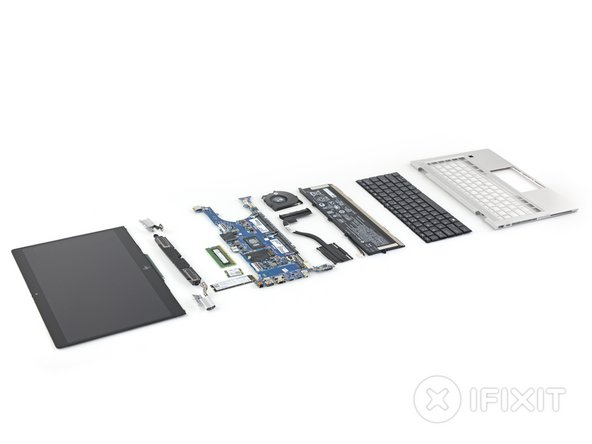 HP EliteBook x360 830 G5 Repairability Assessment