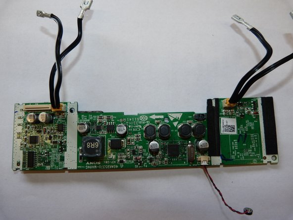 Once the Motherboard has been removed, you are free to remove all of the wires that are connected to it. Gently pull on the clips where the wires insert into the board to remove all of the wires.