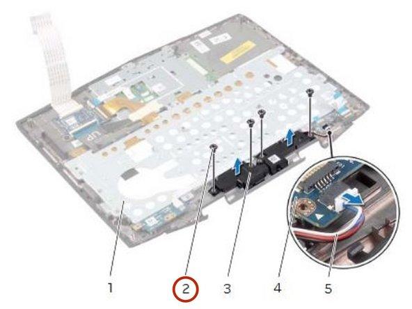 Dell Alienware 14 Speakers Replacement