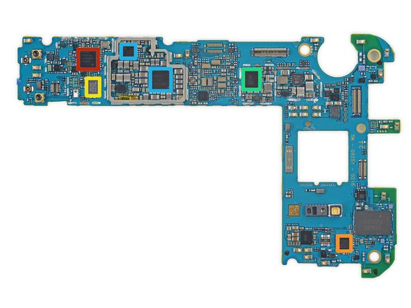 Flipping the motherboard exposes more control hardware and lots of power management ICs: